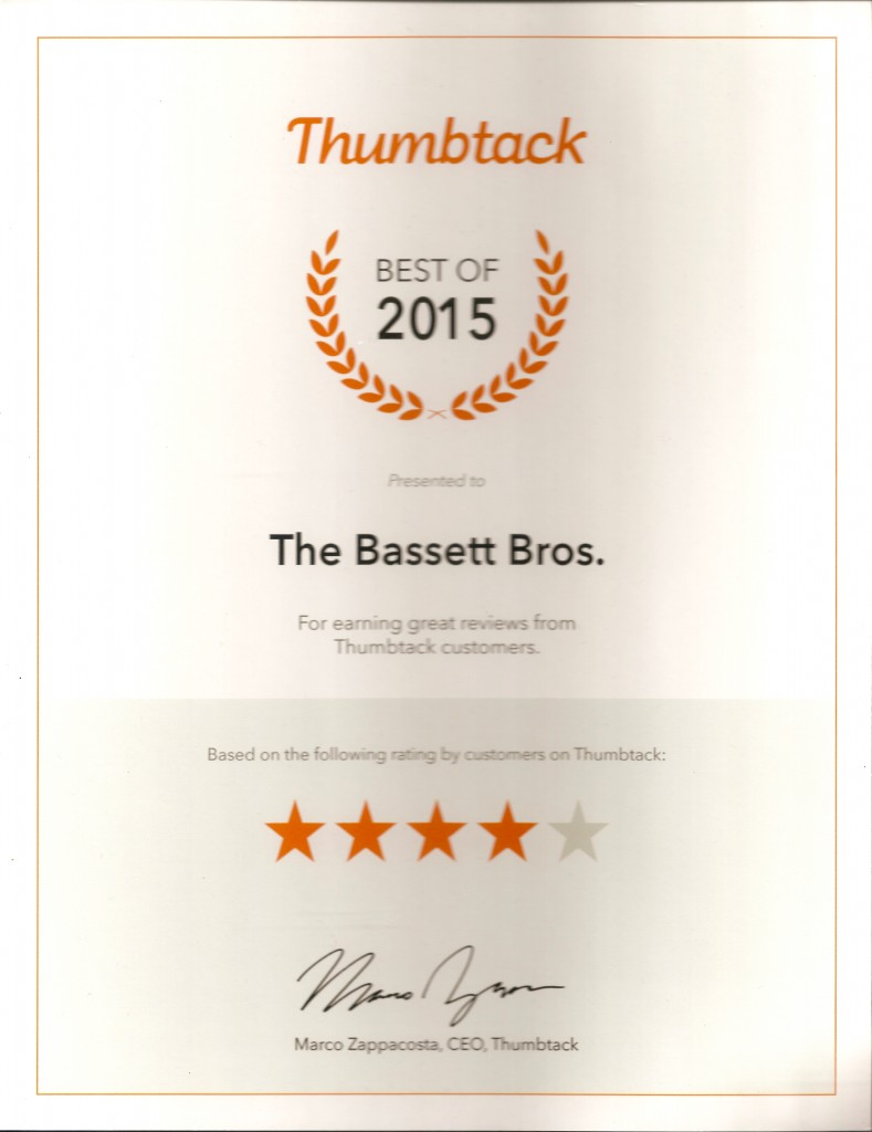 The Bassett Bros - Thumbtack Best of 2015